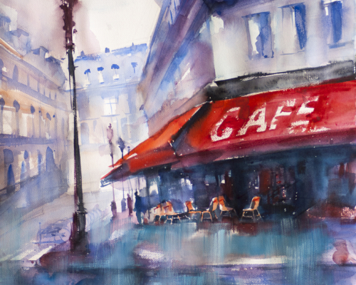 Mary Segreti Award: Lyudmila  Tomova  -The Café